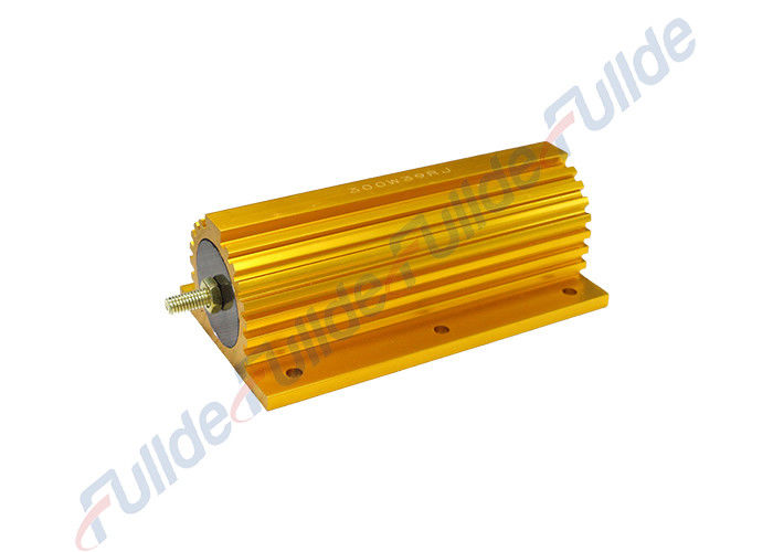 CE Certificate Golden Non Inductive Power Resistors For Load Bank Test