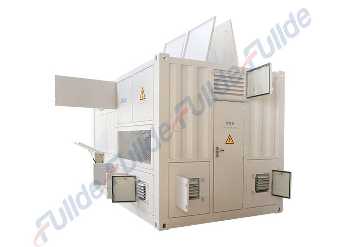 Resistive and Inductive Intelligent Dry Load Bank White Color DC 1000V